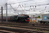 60103 Flying Scotsman departs with 'The Hadrian' Doncaster 24th July 2021 (1)
