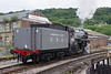 5820 'Big Jim' USA Transportation Corps 2-8-0 at Keighley running round to form the 11 00 am service to Oxenhope (2)