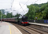 60103 Flying Scotsman passing Keighley with 'The Hadrian' 24th July 2021 (7)