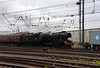 60103 Flying Scotsman departs with 'The Hadrian' Doncaster 24th July 2021 (3)