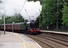 60103 Flying Scotsman passing Keighley with 'The Hadrian' 24th July 2021 (4)