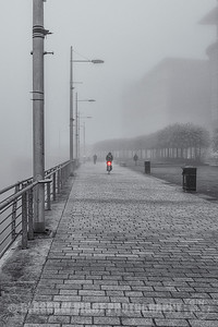 Broomielaw in the Fog