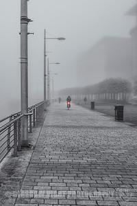 Broomielaw in the Fog