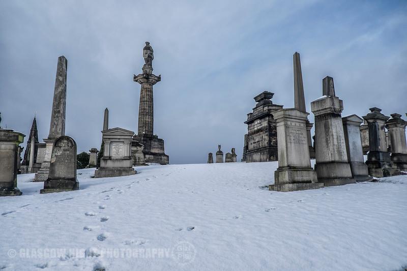 Necropolis in the Snow