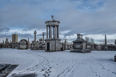 Necropolis in the Snow
