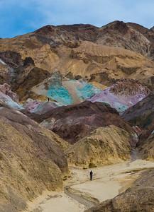 """""""Artist's Pallete,"""" Death Valley"""