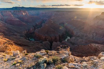 Sunset at Tatahatso Point, Arizona