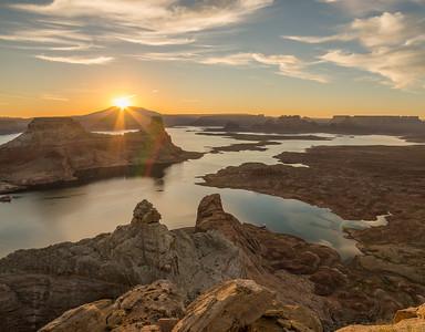 Sunrise at Alstrom Point, Utah