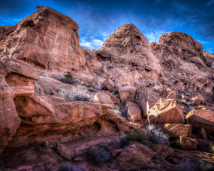 Three Guards at Valley of Fire