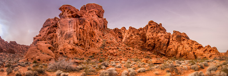 Red sandstone at Valley of Fire