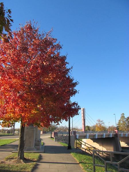 11-10-16 Dayton 12 Sunrise Park Edwin C  Moses Blvd Bridge