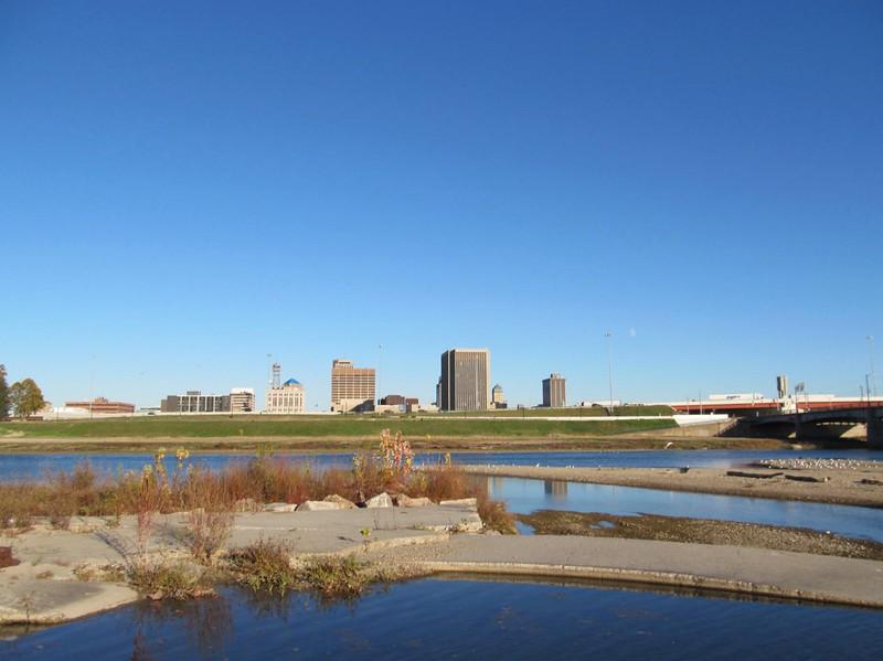 11-10-16 Dayton 26 Sunrise Park Wolf Creek Great Miami River