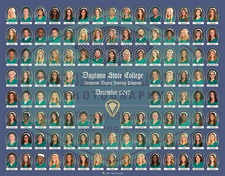 ADN Nursing - Fall 2017 (109 students) - 14x11