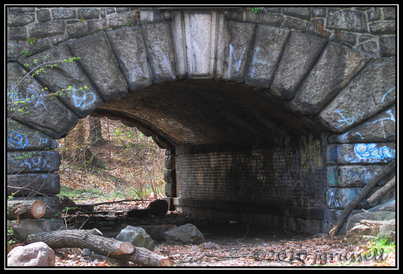 Tunnel<br /> Branchbrook Park