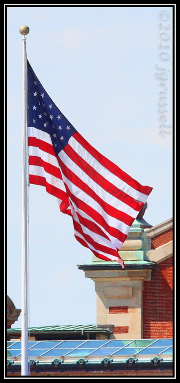 It's because they came that THIS is my family's flag. <br /> And I am grateful.