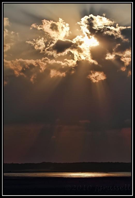 Evening's rays