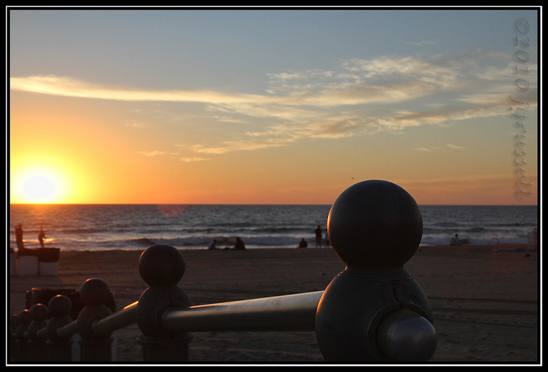So my family dragged me out to be the designated driver and official photographer of the 2010 Rock & Roll Half Marathon at Virginia Beach. This photo proves that I really do occasionally see the sunrise. Not willingly, but...
