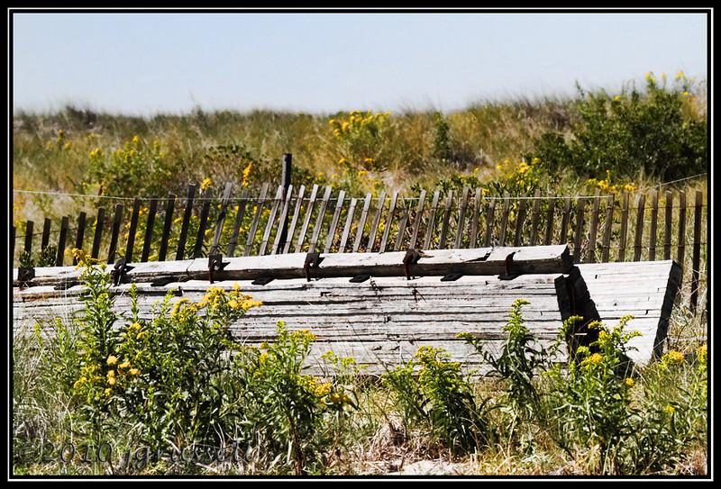 Wooden remnants