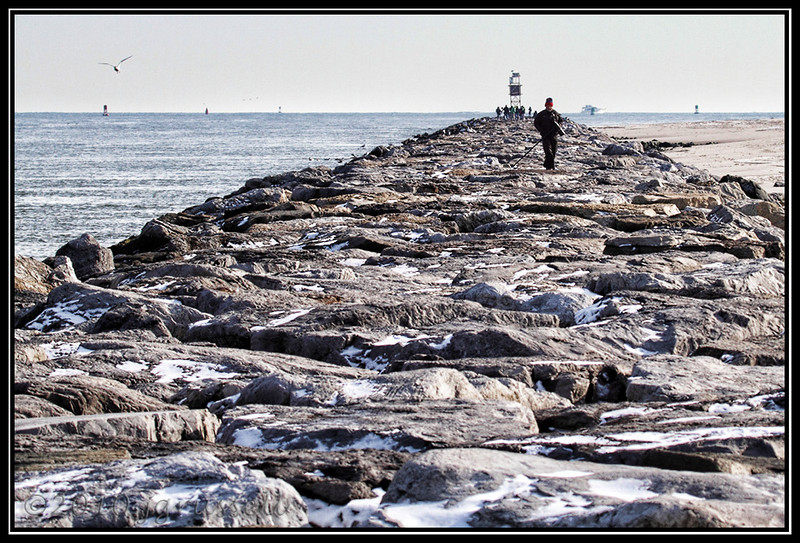 I absolutely HATE the rocks on the Barnegat jetty