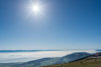 Above the fog...