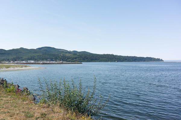 View towards Neah Bay port