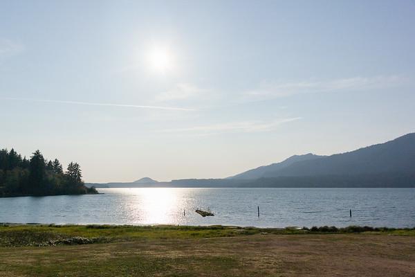 Quinault Lake view