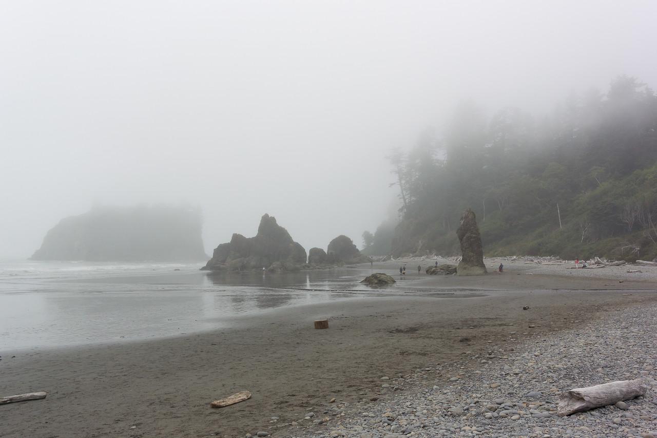 Last look at the beach