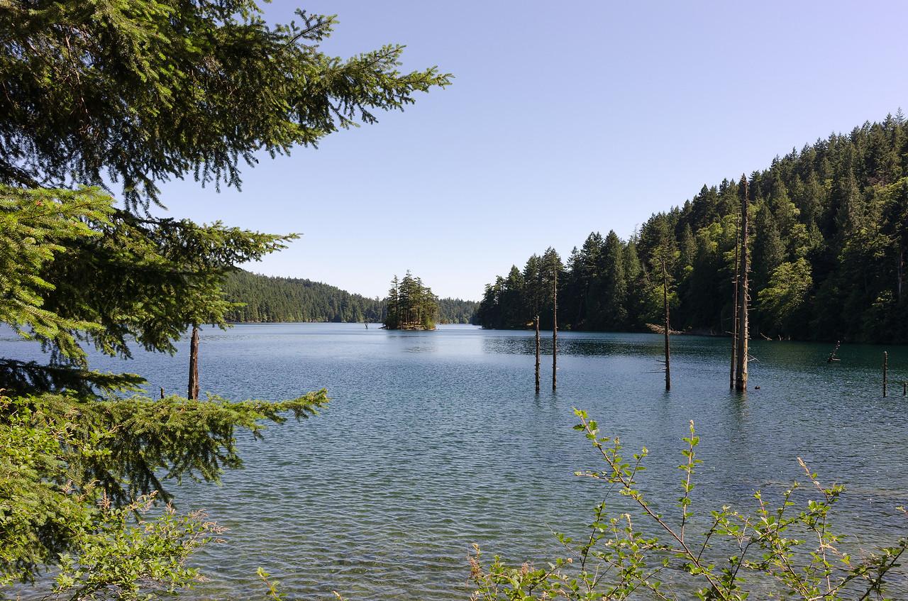 Reached Mountain Lake