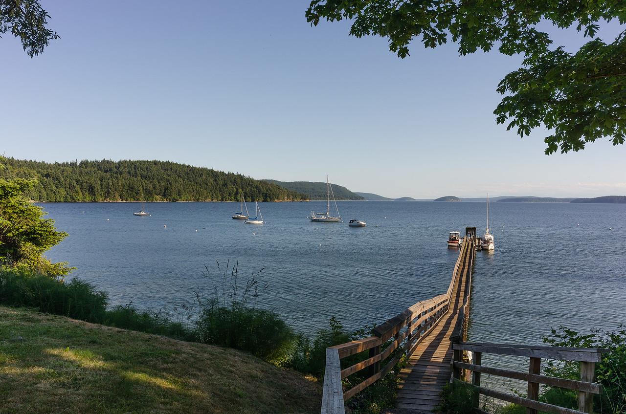Nice pier in Olga