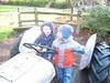 Gemeinsam auf dem Traktor