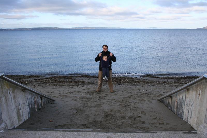 Am Alki Beach