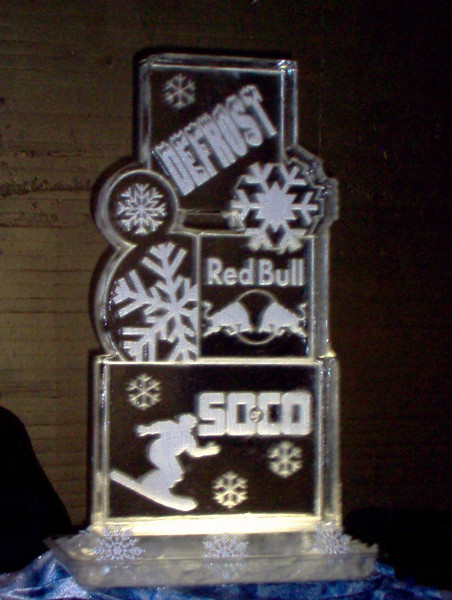 Red Bull Ice Sculpture