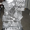 Happy New Year baby with banner and logo