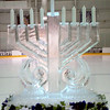 Menorah at the Ice Rink