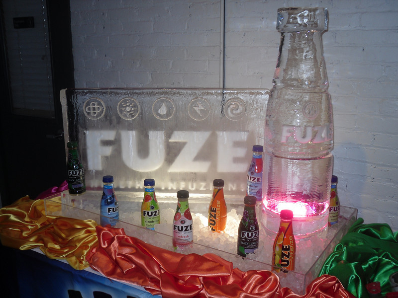 Fuze Beverage in Denver, Colorado for Corporate show