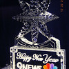 New Years 3 block sculpture for 9 News in Denver Colorado. Actually they came to Loveland to see what we were carving for the holiday