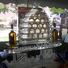 American Honey Turkey Ice Luge with Bee Hive theme