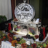 Grapevine design Ice Luge for Heritage Todd Creek