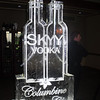Skyy Vodka luge with Columbine Country Club logo