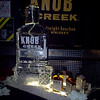 Knob Creek Bourbon Bottle Luge