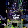 Absolute Pears Vodka luge carved in shape of pear