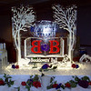 Belvedere Vodka Luge with Alice in Wonderland theme
