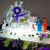 Mi Casa Fund Raiser Luge with lime display in ice