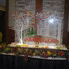 Late Autumn Event at Ameristar Casino in Blackhawk, Co. Love the color in the leaves of this Ice Sculpture.