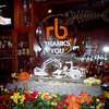 Thanksgiving is a time for Thankfulness. rb Richie Bros of Longmont thanked thier clients with this Ice Sculpture at the Bonefish in Loveland.