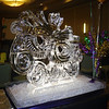 Mardi Gras Mask Ice Sculpture