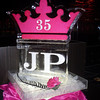 Queen for the Day! 35th Birthday Ice Sculpture