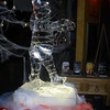 Halloween Mummy Ice Sculpture