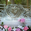 Cinderella Pumpkin Shaped Carriage Ice Sculpture