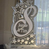 Custom S with names and stars Ice Luge